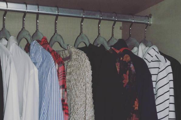 Capsule Wardrobe, Kleiderstange, Kleiderbügel