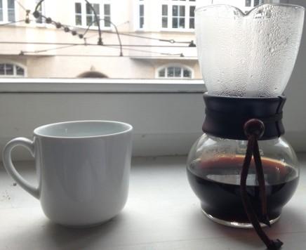 Fertig ist der Kaffee